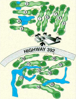 Signal Hill Golf Course Map